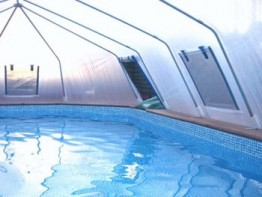 Sun Dome's for In-ground Pools