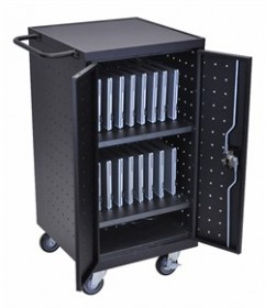 Tablet Charging Cart - Luxor LLTP18-B