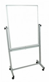 30X40 Mobile Whiteboard - Luxor MB3040WW