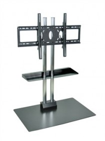 "44"" Stationary Universal LCD TV Stand and Mount - Shelf - Luxor WPSMS44SCH-4"