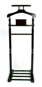 Mahogany Valet Stand - Meridian Group VLS5010