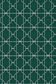 Green Moroccan Breeze Wallpaper Panel