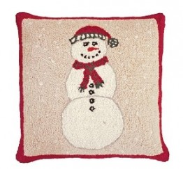 Snowman Decorative Pillow