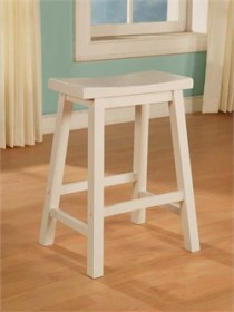 Color Story Pure White Counter Stool Powell 270-430