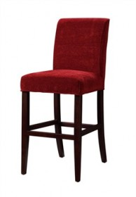 Garnet Chenille Slip Over for Counter Stool or Bar Stool Powell 742-201Z
