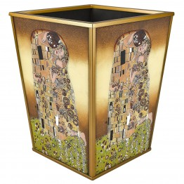 The Kiss Eglimose Reverse Glass Waste Basket