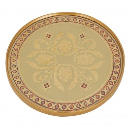 Classic Sand Round Tray or Charger
