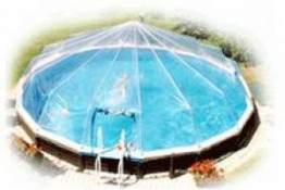 Sun Dome's for Round Above Ground Swimming Pools