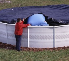 12' x 24' Oval 12 Year Arctic Maxx Winter Pool Cover