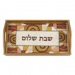 Shabbat Shalom Rectangle Tray