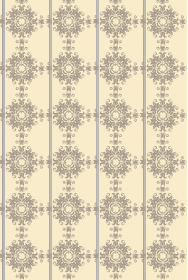 Silver Damask Wallpaper Panel