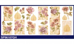 Floral SP96107GH Wallpaper Border