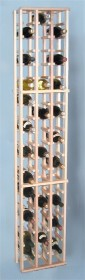 Country Pine 63 Individual Bottle Rack Wood Wine Rack Storage Rack- CP3