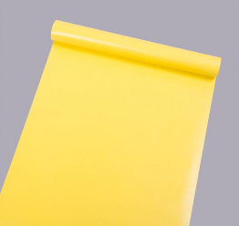 Solid Yellow Self-Adhesive Contact Paper 33 FT