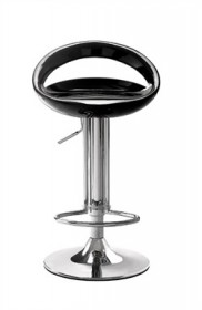 Tickle Barstool in Black Finish Zuo Modern 300021 (Shipping Included)