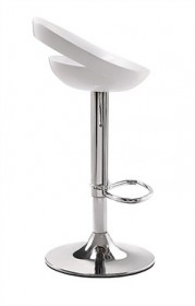 Tickle Barstool in White Finish Zuo Modern 300022 (Shipping Included)