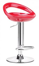 Tickle Barstool in Red Finish Zuo Modern 300024 (Shipping Included)