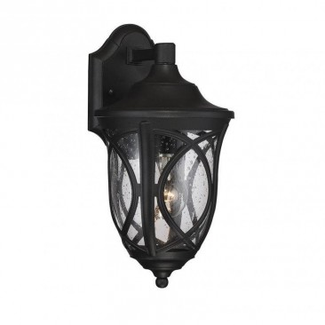 Savoy House Highgate 1 Light Outdoor Lantern in Black